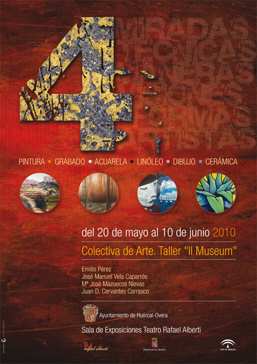 """""""4"""" Exposición de pintura, grabado e ilustración"""