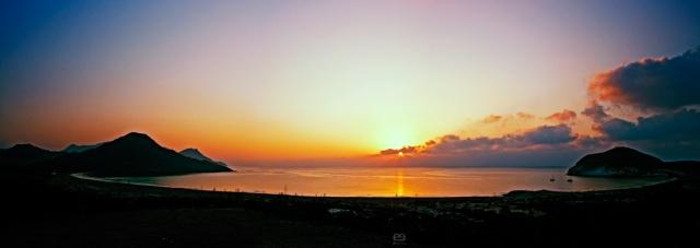 Panorama de la Bahía de los Genoveses