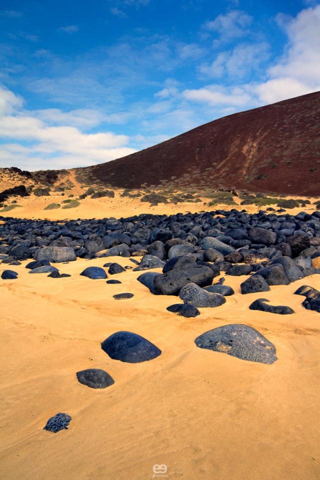 las rocas azules